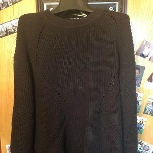NWT black sweater